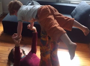 acroyoga with children