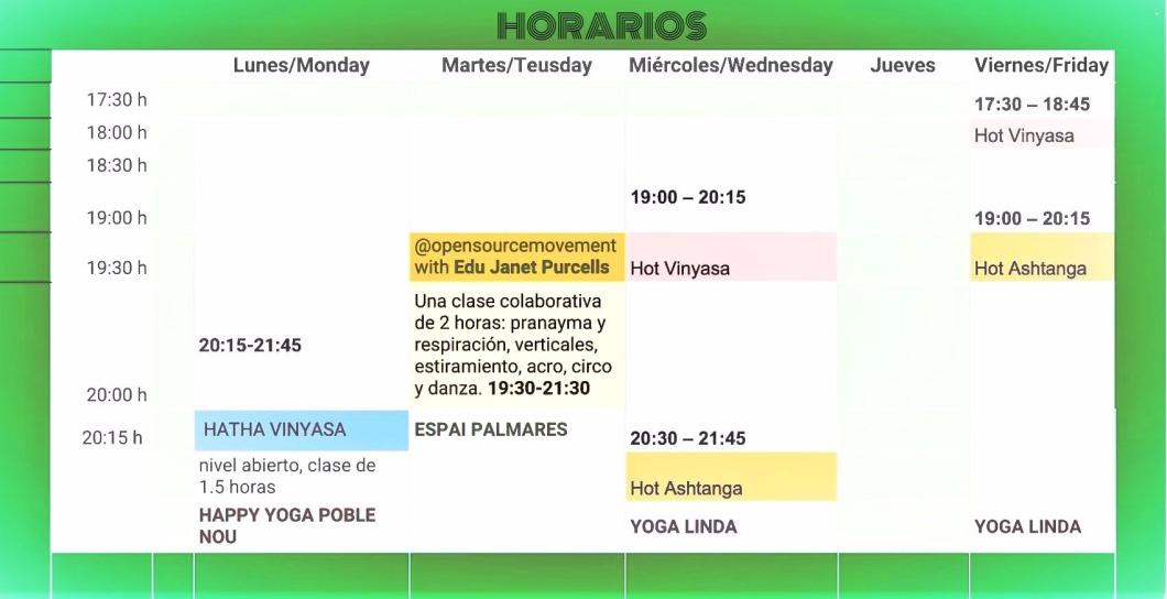 Yoga schedule (1)